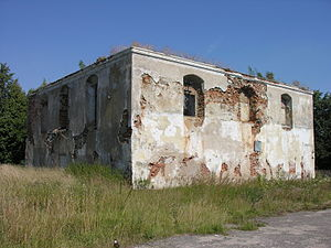 Kalvarija, Lithuania - Old synagogue from the 18th century