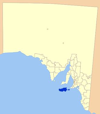 Kangaroo Island Council - Location of Kangaroo Island Council