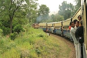 Kangra Valley Railway - Image: Kangra valley rail