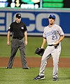 Kansas City Royals starting pitcher Danny Duffy (23) (5757520254).jpg