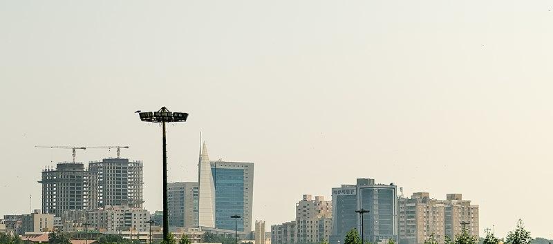Karachi Clifton Skyline.JPG