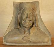 Busta Karla IV. v chrámu sv. Víta