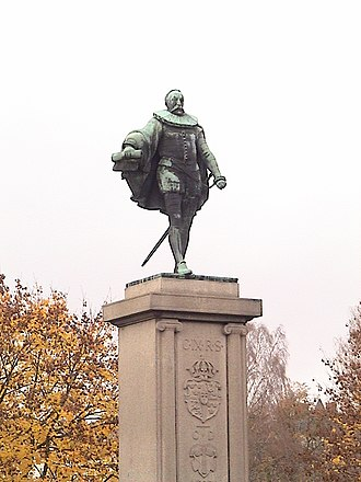 Charles IX of Sweden - Statue of Charles IX in Karlstad.