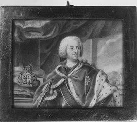 KARL VII ALBERT (1697-1745), tysk-romersk kejsare, kurfurste av Bayern, kung av Böhmen, gift med Maria Amelia av Österrike