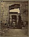 Karnak. Temple de Ramessés IV la porte Egypte - Bonfils ; F. Bonfils. LCCN2004667885.jpg