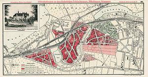 Nikolassee - Villenkolonie Nikolassee, 1911 map