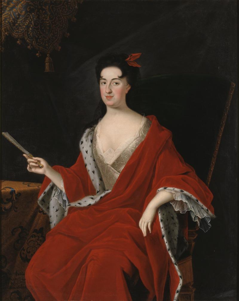 Катарина Opalinski, 1680-1749 (Starbus Юхан) - Национальный Музей - 15856.тиф