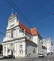 Kath. Pfarrkirche, Karmeliterkirche, hl. Josef (urspr. hll. Maria und Theresia) (4480) stitch IMG 5143 - IMG 5144.jpg