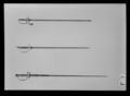 Kavaljersvärja med ej ursprungligen samhörande klinga Tyskland c. 1740-1760 - Livrustkammaren - 35020.tif
