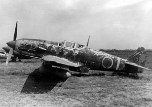 Kawasaki Ki-61 - Kawasaki Ki-61 Hien with drop tank