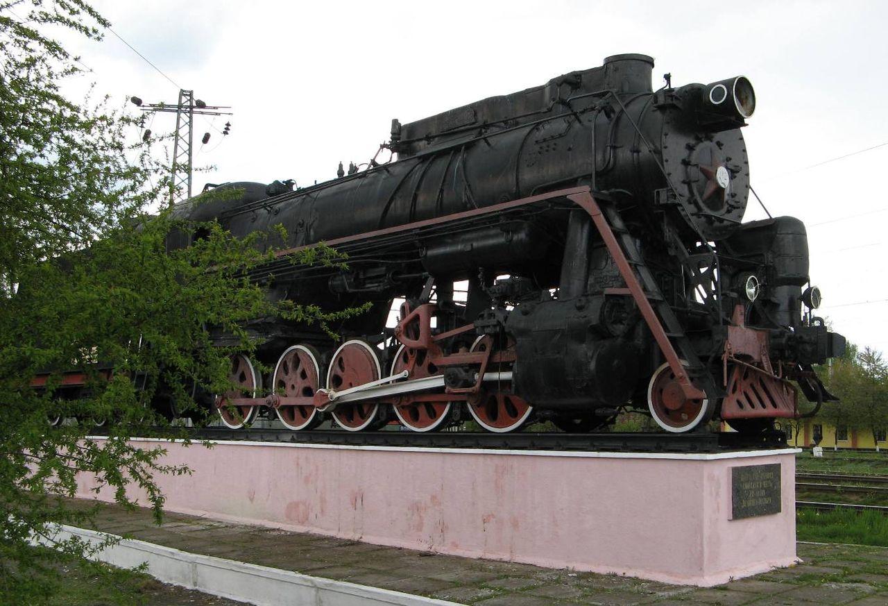 Паровоз Л-2309 (Лебедянского) — визитная карточка города