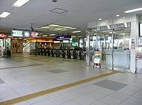 Keihan Tambashi station south gate.jpg