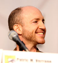 Keeler at the 2010 San Diego Comic-Con International.