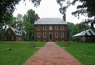 Kenmore (Fredericksburg, Virginia) - Kenmore Plantation in 2006