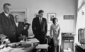 Kennedy, Johnson, and others watching flight of Astronaut Shepard on television, 05 May 1961.png