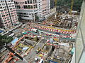 Kennedy Town Station under construction.JPG