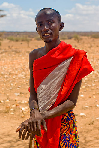 Samburu people - Samburu chief