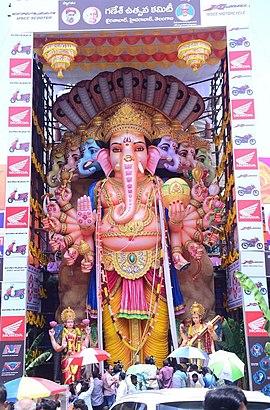 Khairatabad Ganesh Idol Jpg