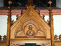 Kierch Diddeleng, Beichtstull Kartusch-106.jpg