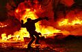 Kiev, Grushevskogo str. 22.01.2014.JPG