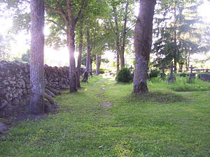 Kihelkonna - Image: Kihelkonna kalmistu