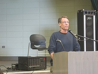 Kim Stanley Robinson - Kim Stanley Robinson speaking at the Bay Area Anarchist Bookfair on the social themes of his work.