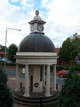 Kimberley, Nottinghamshire - Image: Kimberley War Memorial, Nottinghamshire