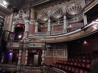 King's Theatre, Glasgow - Boxes seen from the Grand Circle