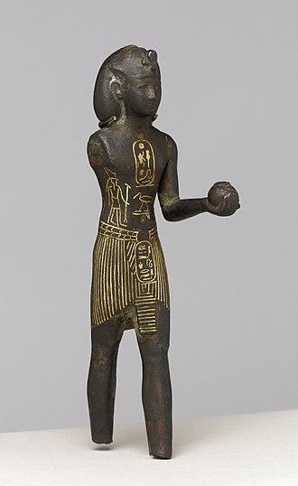 Osorkon I - Image: King Osorkon I, ca. 924 889 B.C.E. 57.92