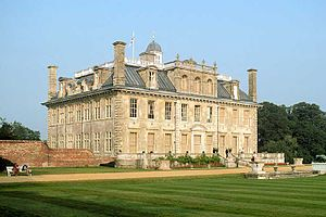 Roger Pratt (architect) - The south and west sides of Kingston Lacy, as remodelled by Sir Charles Barry in the 19th century