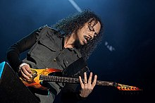 Hammett performing live in 2007