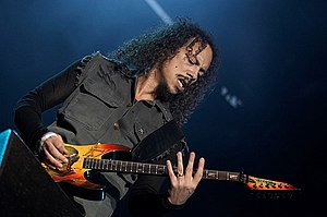 Death Magnetic - Hammett performing live in 2007