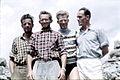 Klettergruppe, Fritz Wintersteller, Johann Huber, 1958.jpg