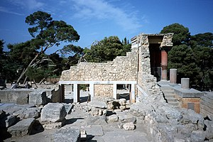 Minoan chronology - Another View of the Palace.