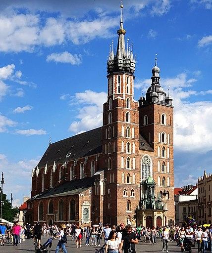 KościółMariacki-WidokOdZachodu-POL, Kraków