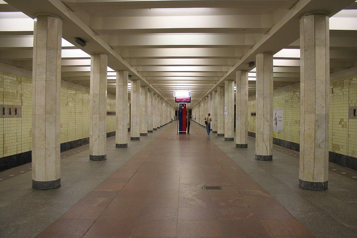 Коломенская метро цветы