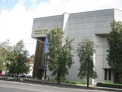 Kaip pateikti į Vilniaus Kongresų Rūmai viešuoju transportu - Apie vietovę