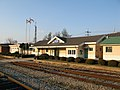 Korail Samcheok Line Samcheok Station Rearside.jpg