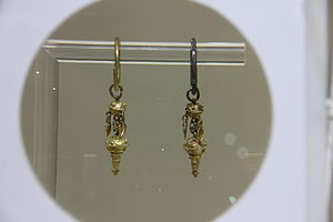 Daegaya - Image: Korea Gaya earrings