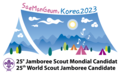 Korea 2023 candidate to 25th World Scout Jamboree.png