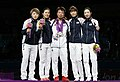 Korea London WomenTeam Fencing 20 (7730592202).jpg