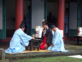 Korean Confucianism - Chugyedaeje, a Confucian ritual ceremony in autumn in Jeju, South Korea.