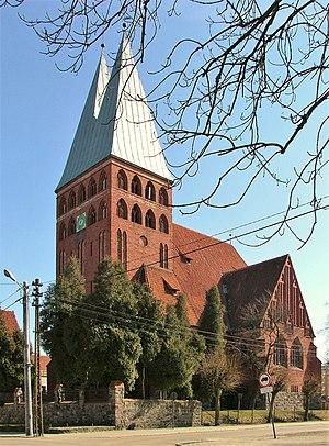 Ostróda - Evangelical church