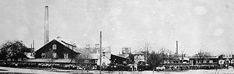 Kosta Glasbruk - Kosta glasbruk ca. 1890