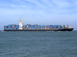 Kota Laju p10 approaching Port of Rotterdam, Holland 19-Apr-2007.jpg