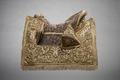 Kröningssadel, guld, pärlor. Drottning Kristina - Livrustkammaren - 86619.tif