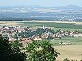 Krabčice, pohled na obec z Řípu.jpg
