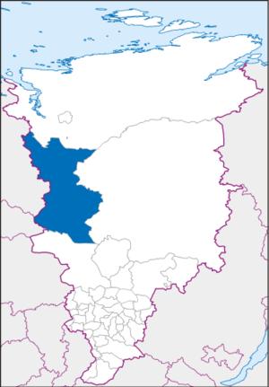 Turukhansky District - Image: Krasnojarski krai turukhansky
