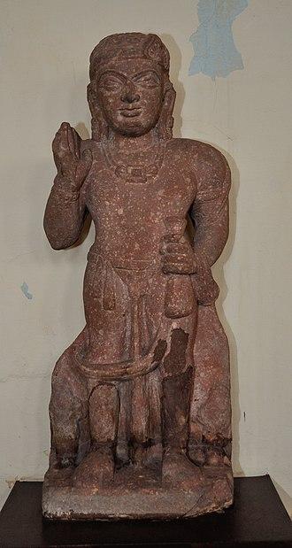 Kubera - Kubera, 1st century CE, Mathura Museum.