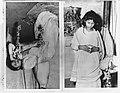 Kumari, kindermeisje van 14 jarige in Tartan 40 dagen in meditatie, Bestanddeelnr 908-5362.jpg